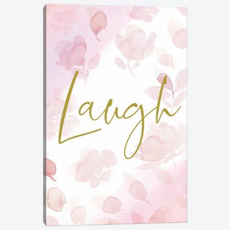 Laugh Canvas Print #SPN115} by Stephanie Ryan Canvas Art