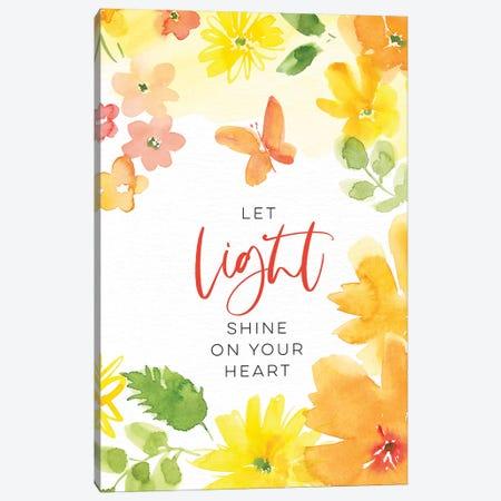 Let Light Shine Canvas Print #SPN121} by Stephanie Ryan Canvas Artwork