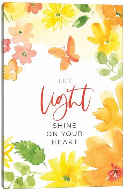 Let Light Shine Canvas Art Print
