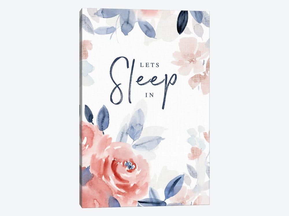 Let's Sleep In by Stephanie Ryan 1-piece Canvas Art Print