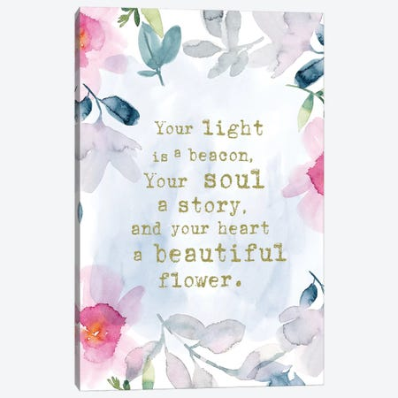 Light is a Beacon 3-Piece Canvas #SPN128} by Stephanie Ryan Canvas Art
