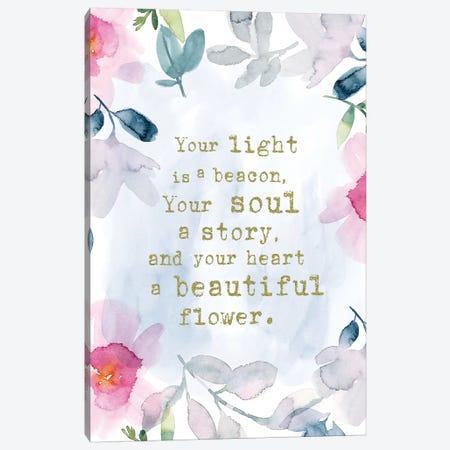 Light is a Beacon Canvas Print #SPN128} by Stephanie Ryan Canvas Art