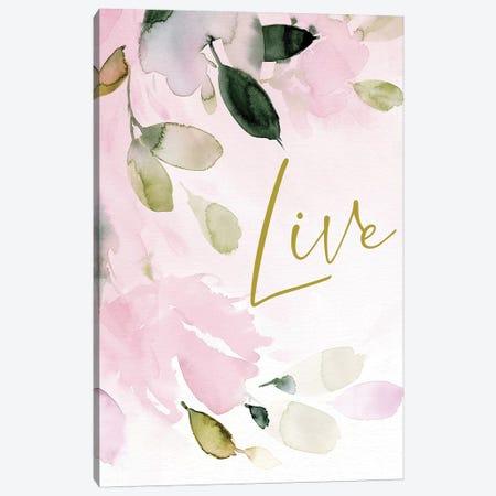 Live Canvas Print #SPN131} by Stephanie Ryan Art Print