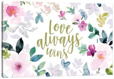 Love Always Wins II Canvas Art Print