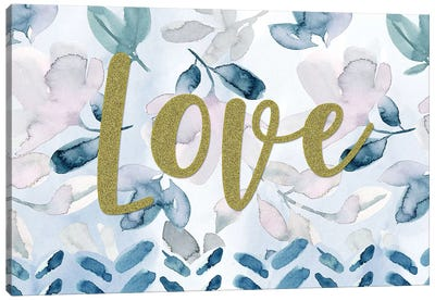 Love II Canvas Art Print