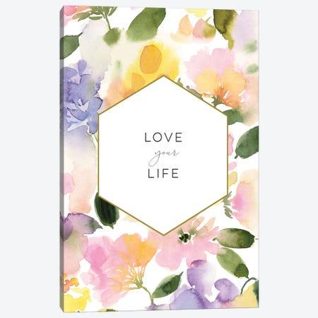 Love Your Life Canvas Print #SPN145} by Stephanie Ryan Canvas Art Print
