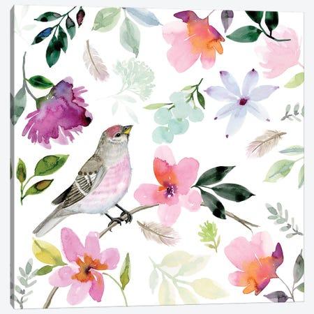 Lovetales Bird Canvas Print #SPN146} by Stephanie Ryan Canvas Art Print