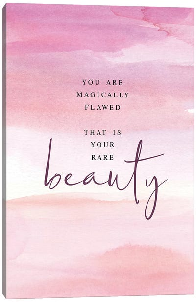 Magically Flawed Canvas Art Print