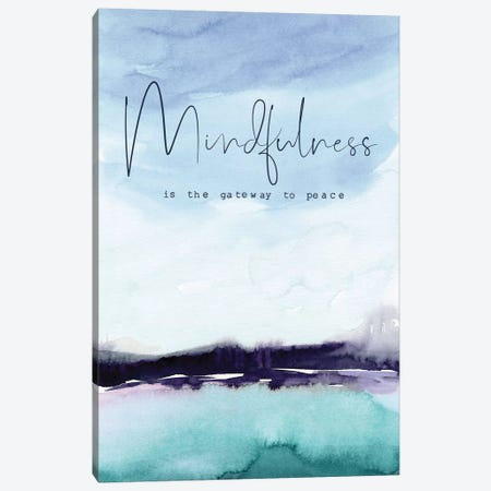 Mindfulness Canvas Print #SPN151} by Stephanie Ryan Art Print