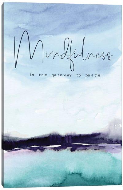 Mindfulness Canvas Art Print