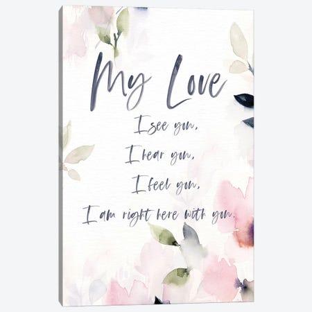 My Love Canvas Print #SPN156} by Stephanie Ryan Canvas Wall Art