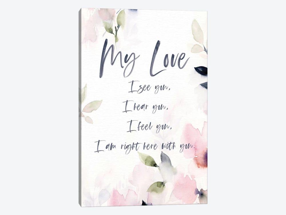 My Love by Stephanie Ryan 1-piece Canvas Artwork