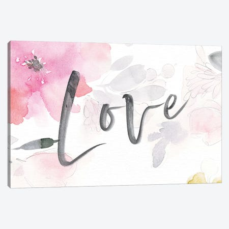 Nurture Love Canvas Print #SPN158} by Stephanie Ryan Art Print