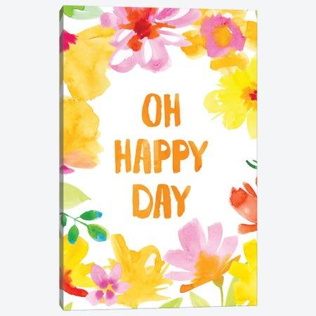 Oh Happy Day Canvas Print #SPN159} by Stephanie Ryan Canvas Print