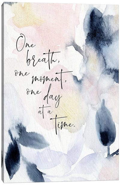One Breath Canvas Art Print