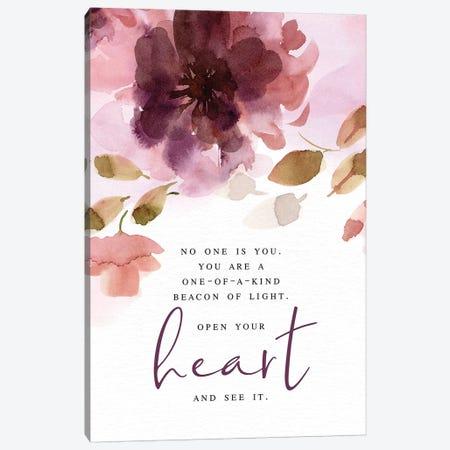 Open Your Heart Canvas Print #SPN161} by Stephanie Ryan Canvas Wall Art