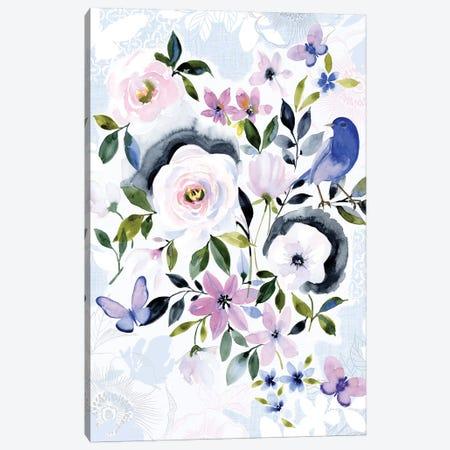 Parisian Garden Canvas Print #SPN162} by Stephanie Ryan Canvas Wall Art