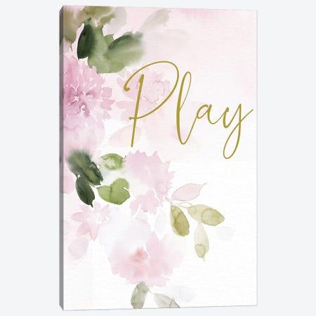 Play 3-Piece Canvas #SPN165} by Stephanie Ryan Canvas Print