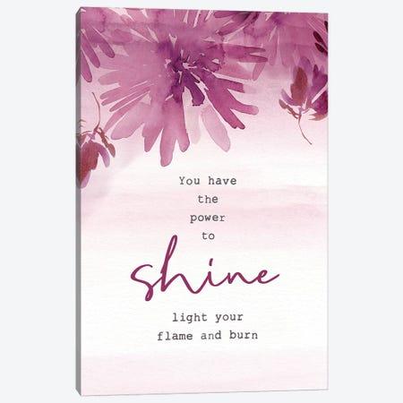 Power To Shine Canvas Print #SPN167} by Stephanie Ryan Canvas Art Print