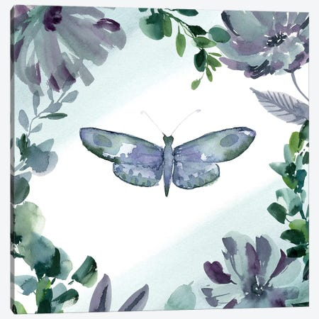 Purpose Butterfly III Canvas Print #SPN171} by Stephanie Ryan Canvas Print