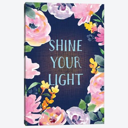 Shine Your Light Canvas Print #SPN190} by Stephanie Ryan Canvas Art Print