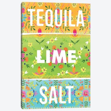 Tequila Lime Salt Canvas Print #SPN208} by Stephanie Ryan Art Print