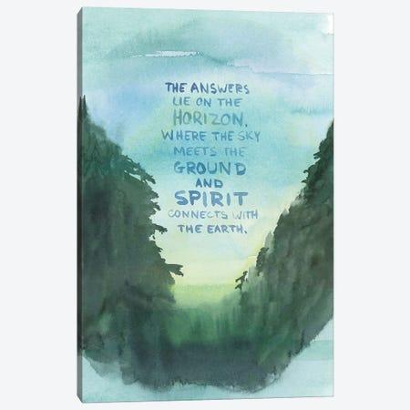 The Answers Lie on the Horizon Canvas Print #SPN209} by Stephanie Ryan Canvas Print