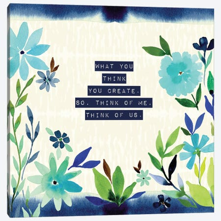 Think of Us Canvas Print #SPN213} by Stephanie Ryan Canvas Wall Art