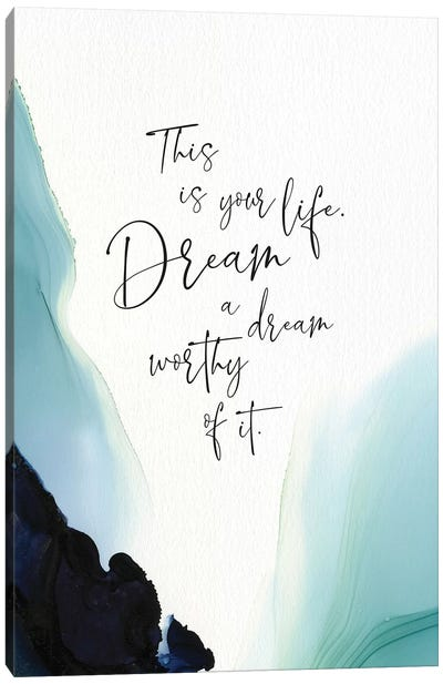 This Is Your Life Canvas Art Print