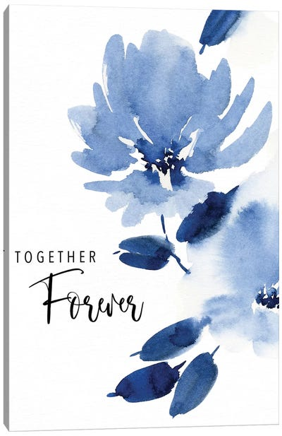 Together Forever Canvas Art Print
