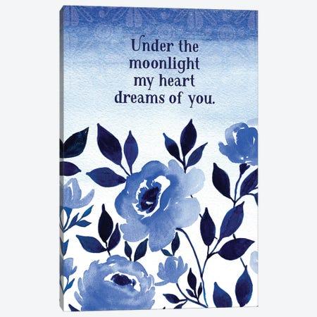 Under the Moonlight Canvas Print #SPN217} by Stephanie Ryan Art Print