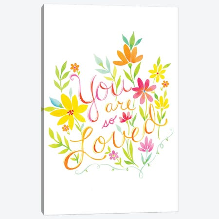 You Are Loved Canvas Print #SPN221} by Stephanie Ryan Canvas Art Print