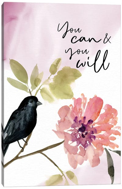 You Can and You Will Canvas Art Print