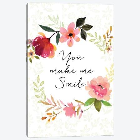 You Make Me Smile Canvas Print #SPN226} by Stephanie Ryan Canvas Artwork