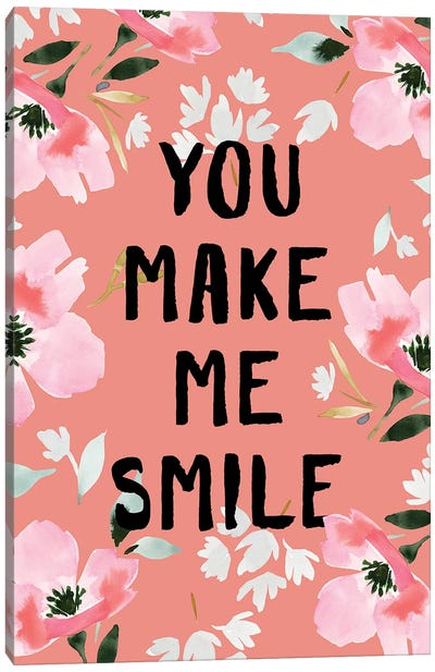 You Make Me Smile II Canvas Art Print