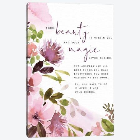 Your Beauty Canvas Print #SPN230} by Stephanie Ryan Canvas Art