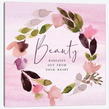 Beauty Radiates Canvas Print #SPN23} by Stephanie Ryan Canvas Art