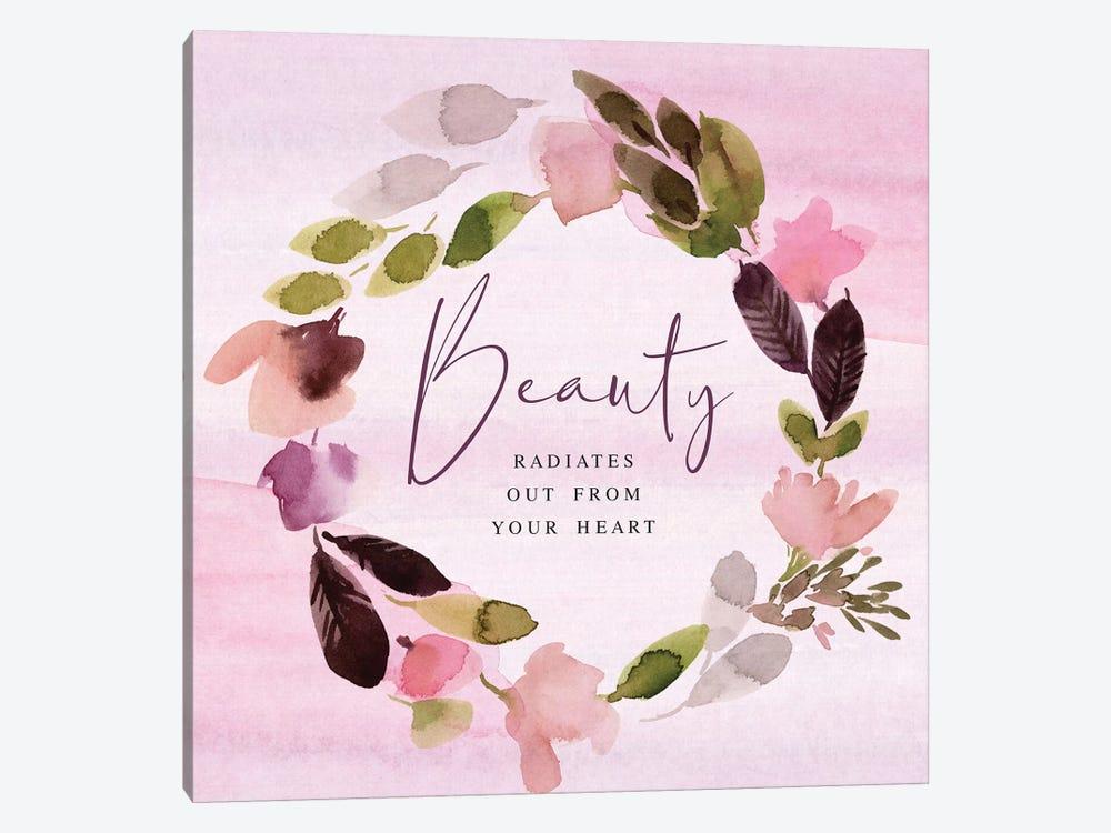Beauty Radiates by Stephanie Ryan 1-piece Canvas Wall Art