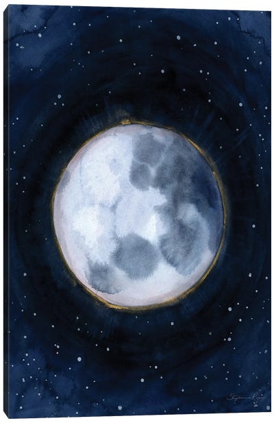 Celestial Moon XIII Canvas Art Print