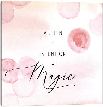 Action Intention Canvas Art Print