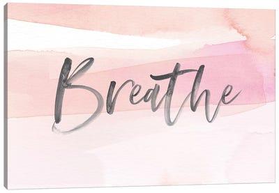 Breathe Canvas Art Print