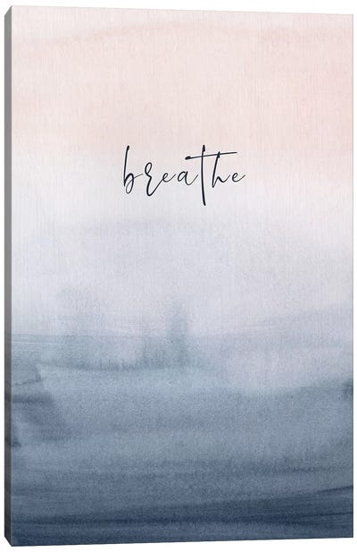 Breathe Doorways Canvas Art Print