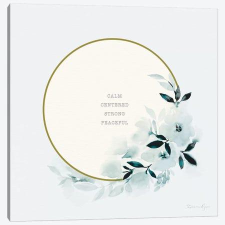Calm Centered Canvas Print #SPN43} by Stephanie Ryan Canvas Art