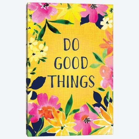Do Good Things 3-Piece Canvas #SPN59} by Stephanie Ryan Canvas Print