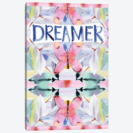 Dreamer Canvas Print #SPN70} by Stephanie Ryan Art Print