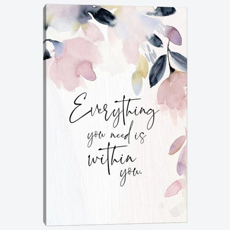 Everything You Need Canvas Print #SPN81} by Stephanie Ryan Canvas Art