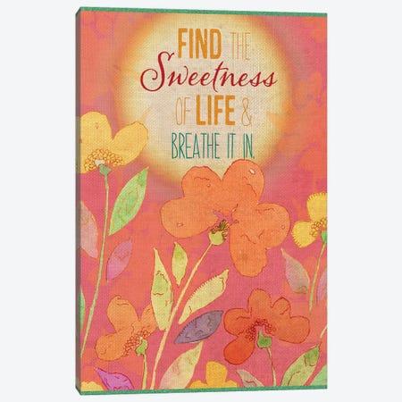 Find the Sweetness Canvas Print #SPN85} by Stephanie Ryan Canvas Art Print