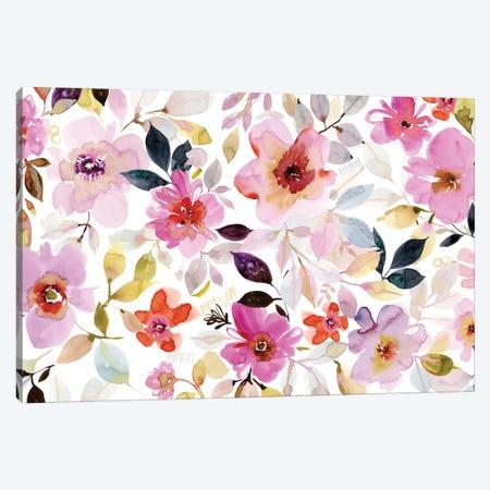 Flora I Canvas Print #SPN88} by Stephanie Ryan Canvas Artwork