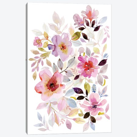 Flora III Canvas Print #SPN90} by Stephanie Ryan Canvas Print