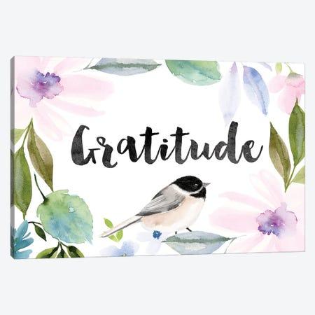 Gratitude Canvas Print #SPN96} by Stephanie Ryan Canvas Art